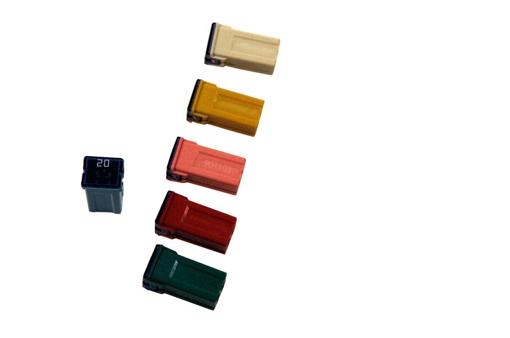 oe opel sicherungsset je 1x 20 25 30 40 50 60 a 2 polig. Black Bedroom Furniture Sets. Home Design Ideas