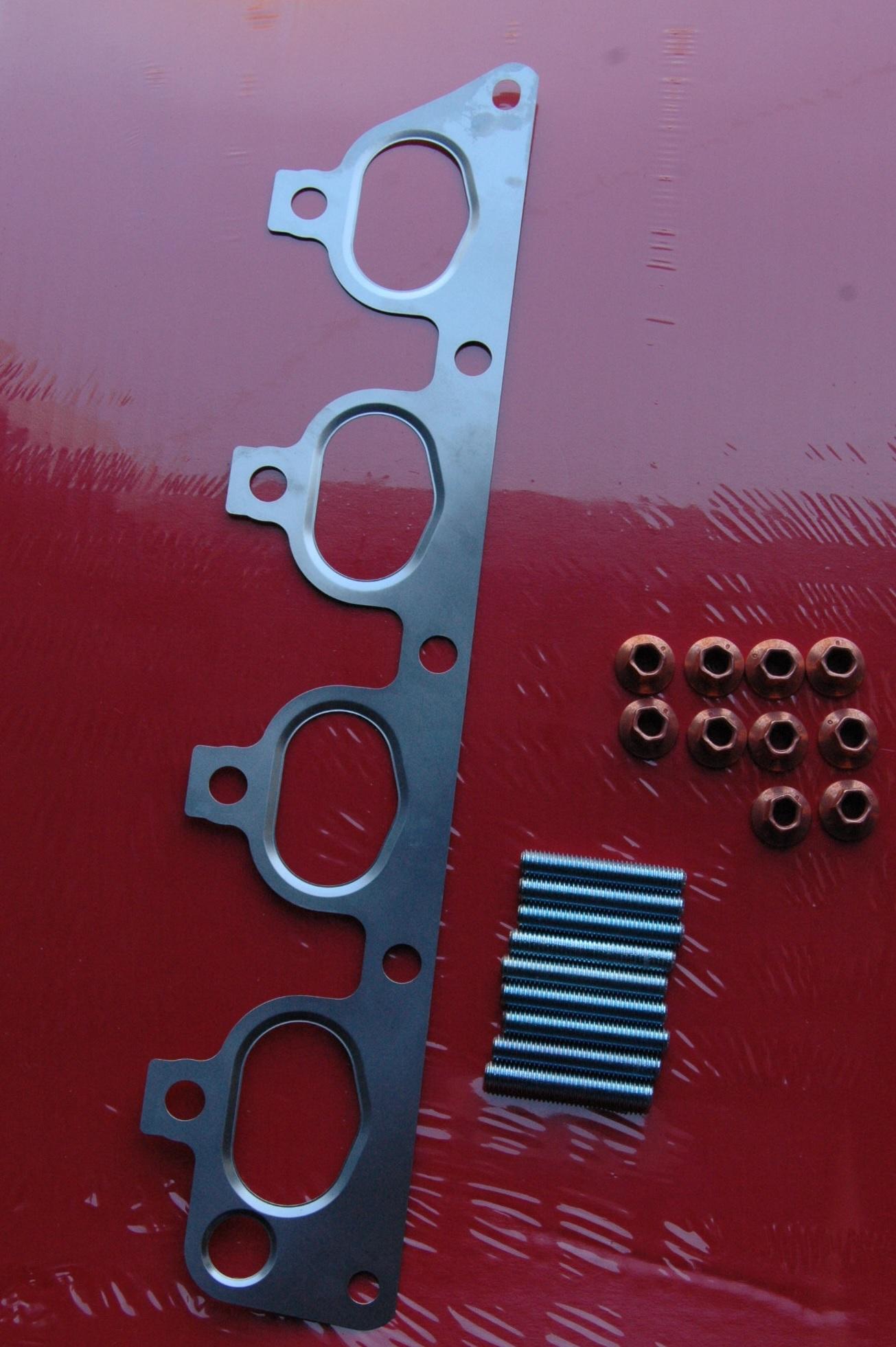 Schrauben Opel Astra G Z16XE X14XE  Z14XE  Y16XE  Z16XE Abgaskrümmerdichtung